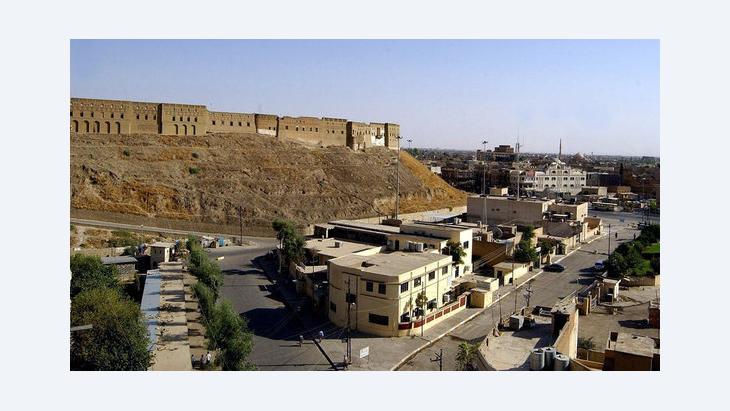 View of the city of Erbil in Iraqi Kurdistan (photo: dpa)