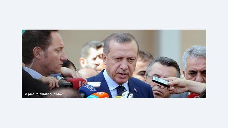 Turkey's Prime Minister Erdogan (photo: picture-alliance/andov)