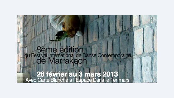Poster for the Dance Festival on Marche in Marrakesh
