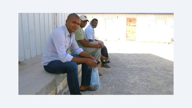 Refugees from Tawerga (photo: Markus Symank)