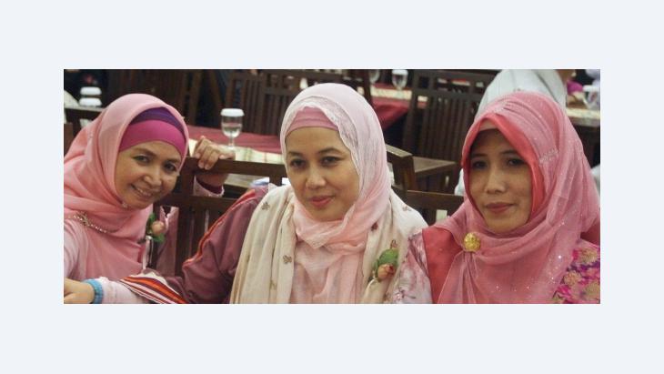 Women in Indonesia (photo: AP)