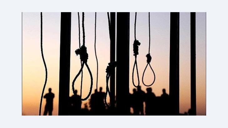 Gallows in Iran (photo: MEHR)