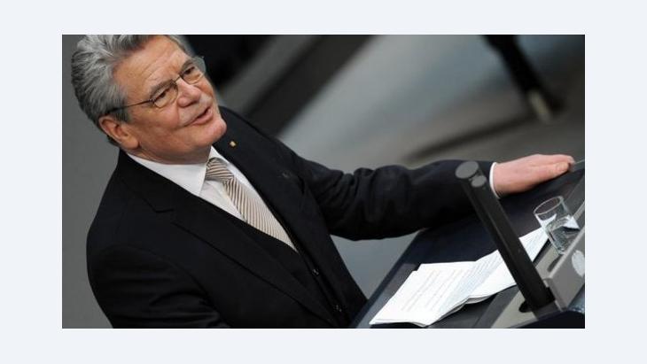 German President Joachim Gauck (photo: Rainer Jensen/dpa)