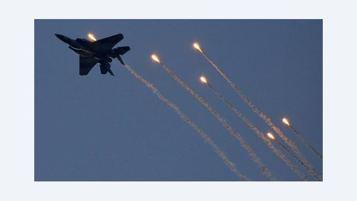Israeli fighter jet (photo: Jack Guez/AFP/Getty Images)