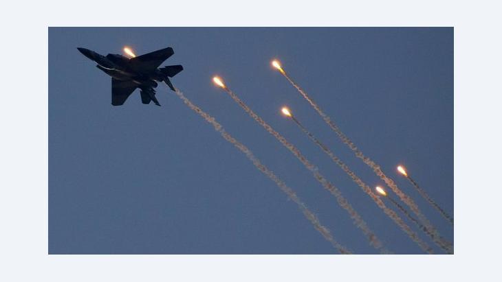 Israeli fighter jet (photo: Jack Guez/AFP/Getty Images)