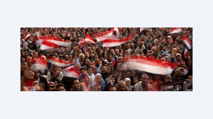 Tahrir Square in Cairo, February 2011 (photo: AP)