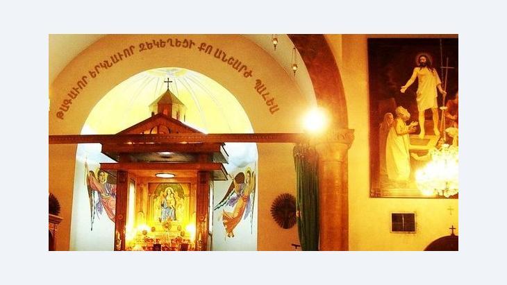Holy Mother of God church Aleppo (photo: Kevorkmail/Wikipedia)