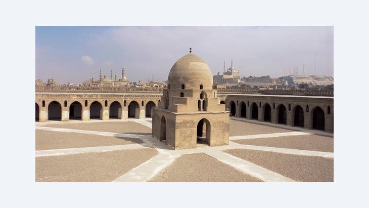 The Ibn Tulun Mosque in Cairo (photo: picture-alliance/Ellen Rooney/Robert Harding)
