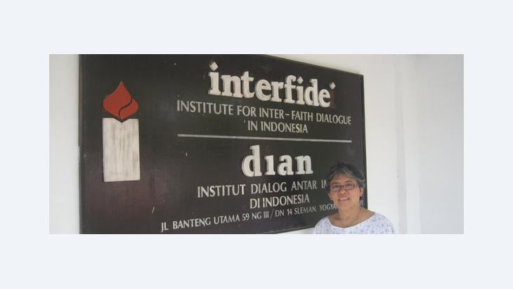Elga Joan Sarapung, the executive director of the DIAN/Interfidei Institute (photo: Anett Keller)