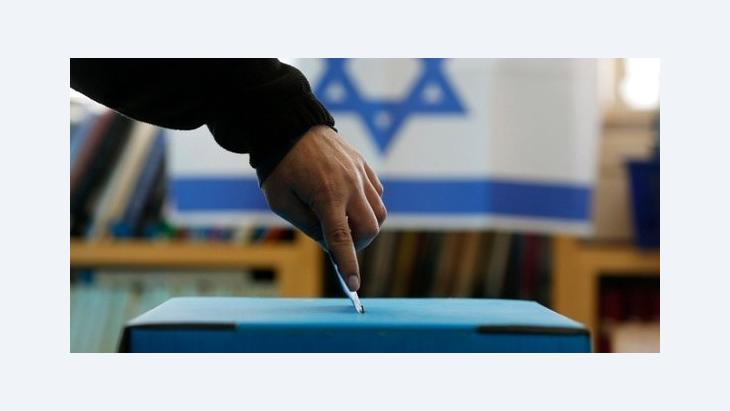 Casting of votes in Israel (photo: Reuters)