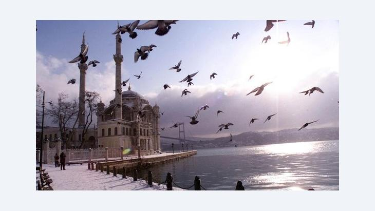 Istanbul, Ortakoy Mosque (photo: AP/Murad Sezer)