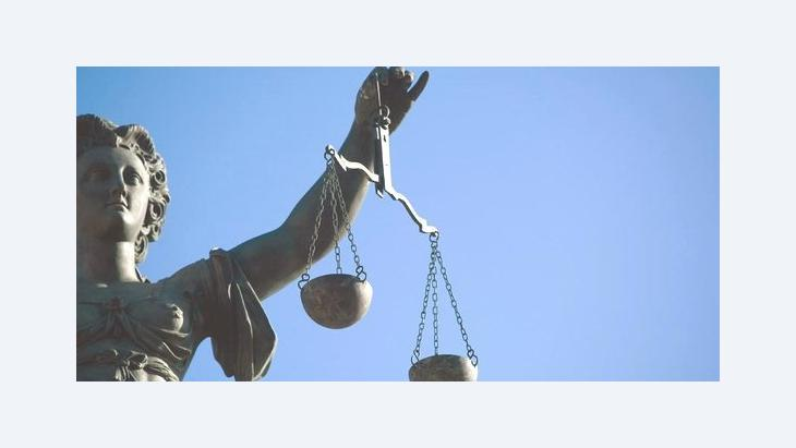 A statue of Lady Justice (photo: dpa)