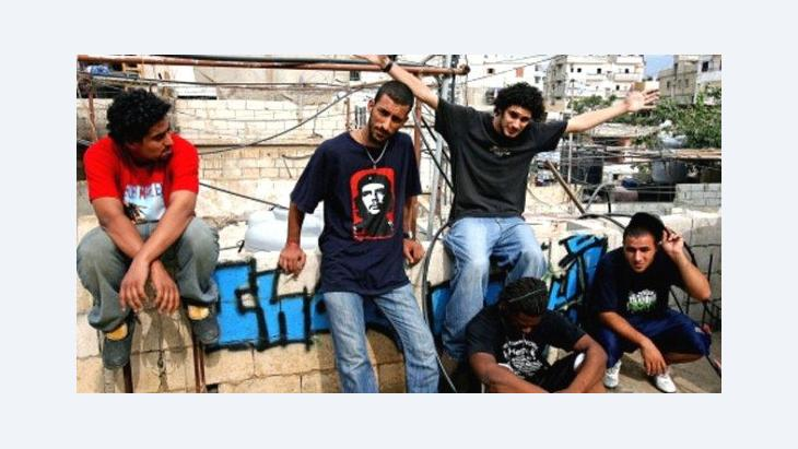 Members of the Khat Thaleth project in Beirut (photo: PR/Sharebeirut.net)