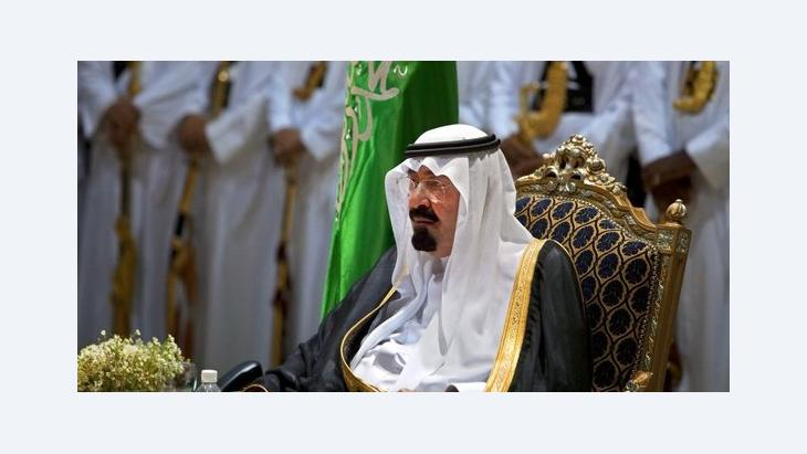 King Abdulllah of Saudi Arabia (photo: dpa)