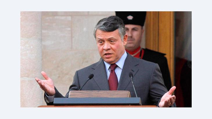 King Abdullah II of Jordan (photo: picture-alliance-dpa)
