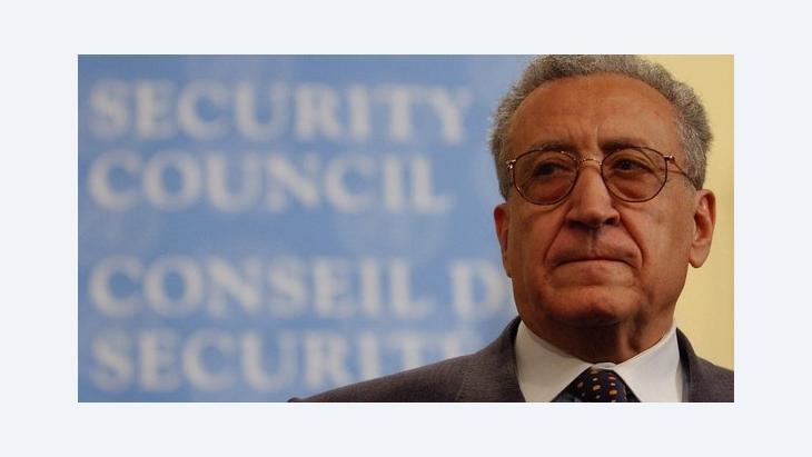 Lakhdar Brahimi, the international Special Envoy for Syria (photo: dpa)