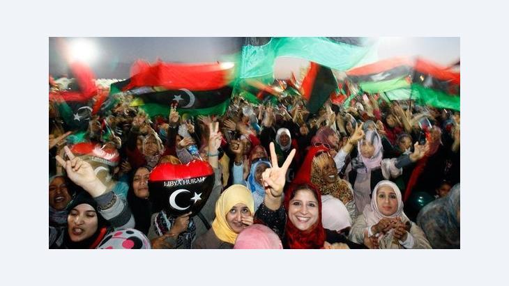 Female activists in Libya (photo: dapd)