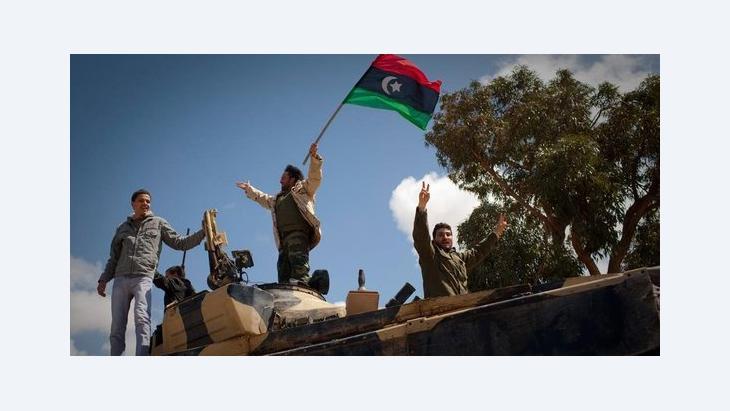 Libyan rebels celebrate the victory over Gaddafi in 2011 (photo: dapd)
