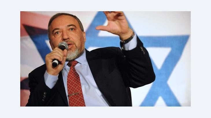 Avigdor Lieberman (photo: Reuters/Mary F. Calvert)