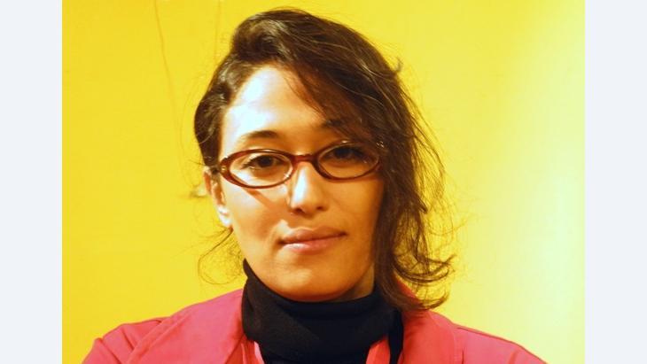 Lina al-Abed (photo: Irmgard Berner)