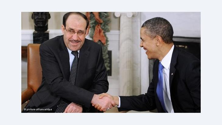 US president Barack Obama and the Iraqi Prime Minister Nuri al-Maliki (photo: picture-alliance/dpa)