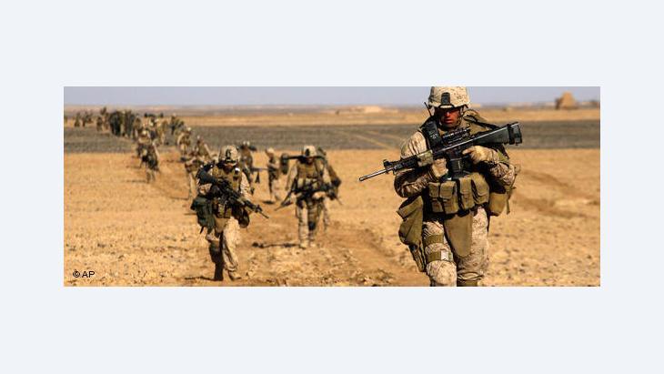 US Marines in Afghanistan (photo: AP)