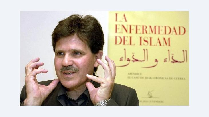 The Tunisian-French author Abdelwahab Meddeb (photo: dpa/picture alliance)