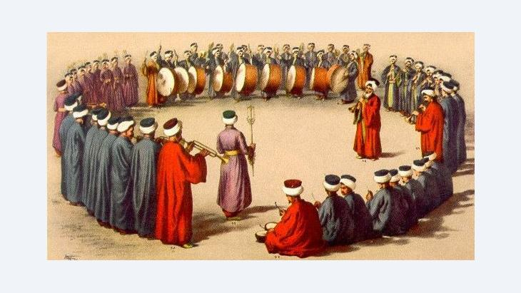 Mehterhane musicians, Albania (source: Wikipedia)