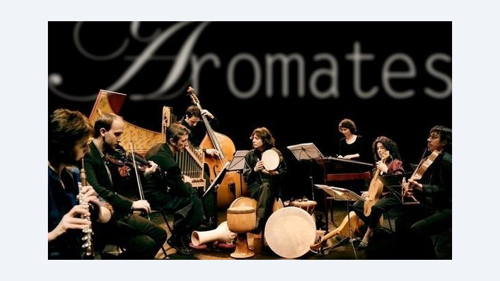 Michèle Claude and the Ensemble Aromates (photo: Michèle Claude)