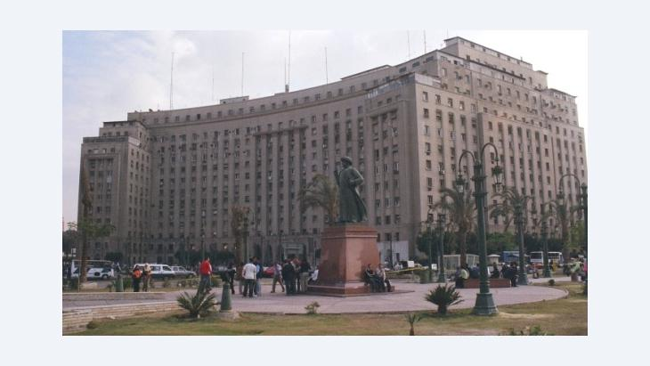 The Mugamma in Cairo (photo: Damon Taylor/Wikipedia)