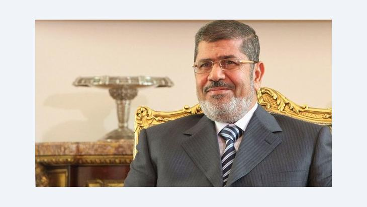 Egypt's president Mohamed Morsi (photo: Reuters)