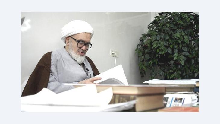 Grand Ayatollah Hossein-Ali Montazeri (photo: Getty Images)
