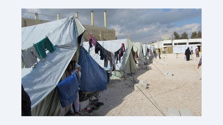 Refugee reception center in Marj, Lebanon (photo: Susanne Schmelter)