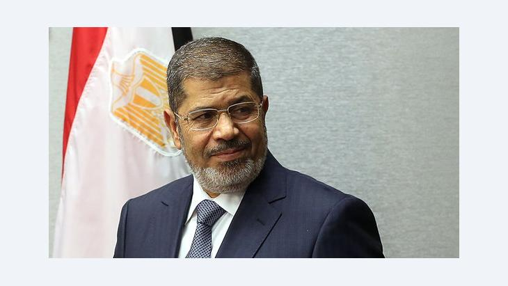 Egypt's president Mohamed Mursi (photo: Spencer Platt/Getty Images)