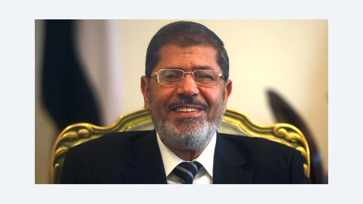 Egypt's president Mursi (photo: Reuters)