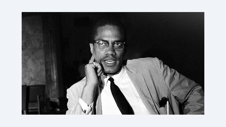 Malcolm X in New York in 1964 (photo: AP)