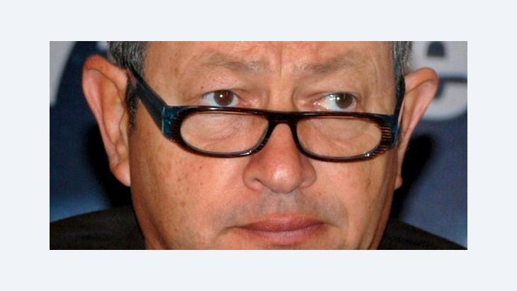 Close-up photography of Naguib Sawiris (photo: dpa)