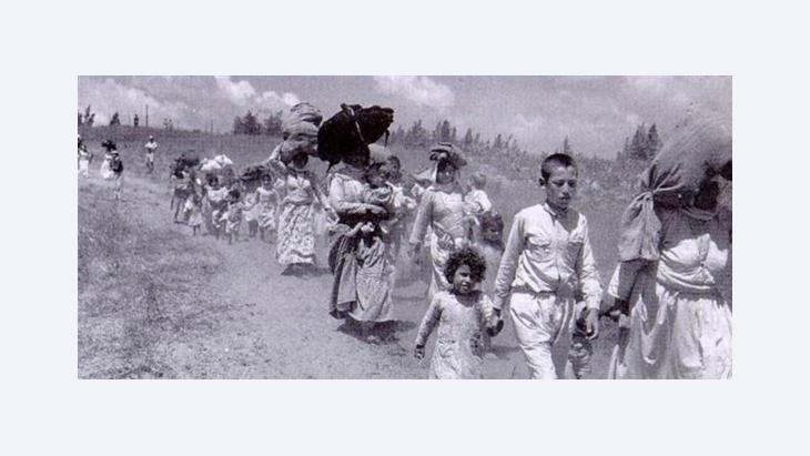 During the Nakba, hundreds of thousands left their homes (photo: public domain)