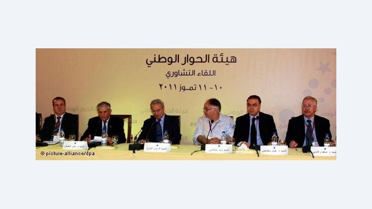 Meeting for National Dialogue (photo: dapd)