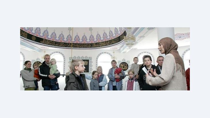 Open Mosque Day in Gelsenkirchen, Germany (photo: AP)