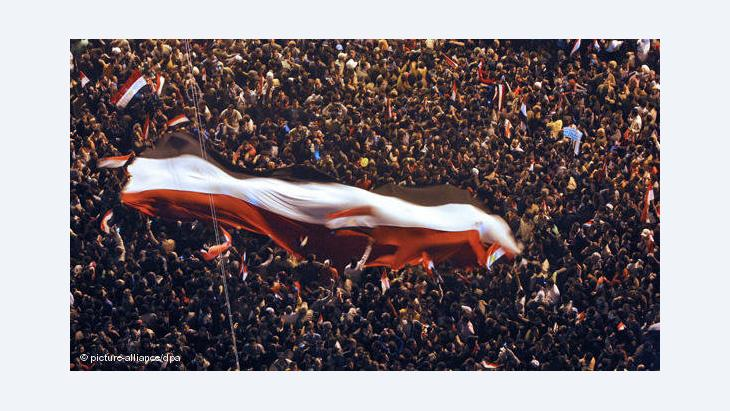 Mass protests at Tahrir Square in Cairo, 2011 (photo: dpa)