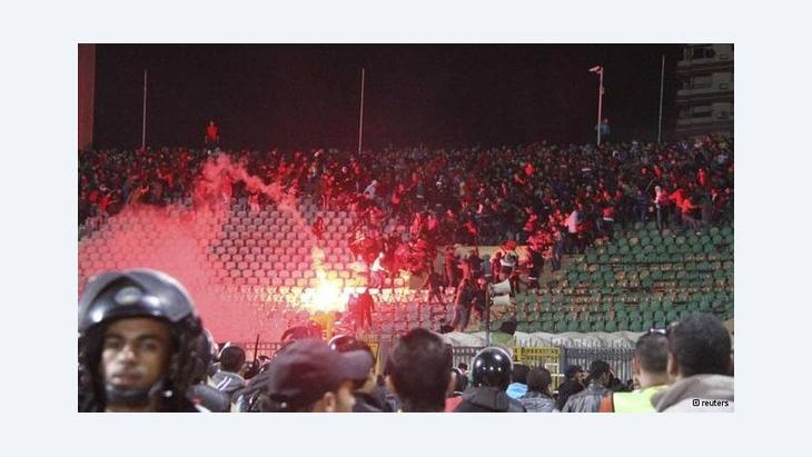 Port Said soccer stadium (photo: Reuters)