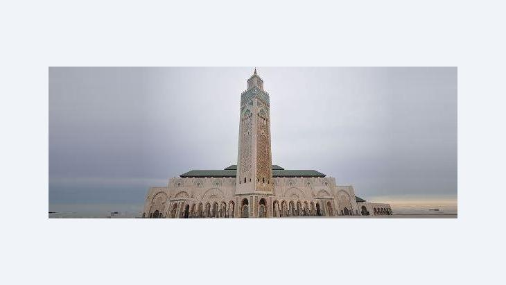 The Hassan II Mosque in Casablanca (photo: Wikipedia)
