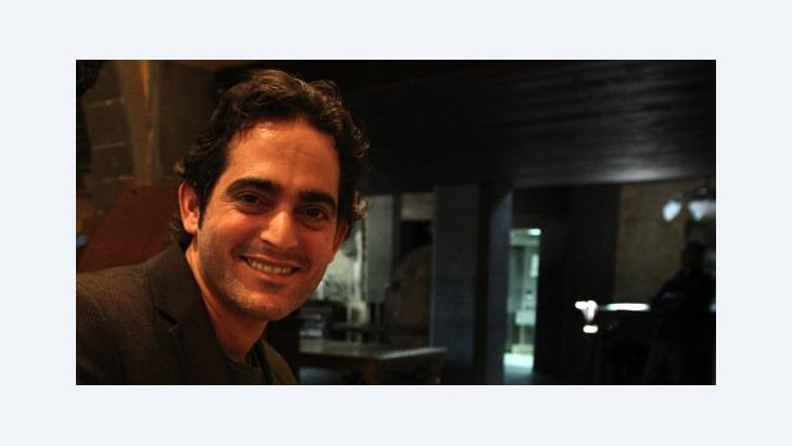 US-based Syrian pianist Malek Jandali poses for a picture at an art centre in Damascus on April 14, 2010 (photo: Getty Images)