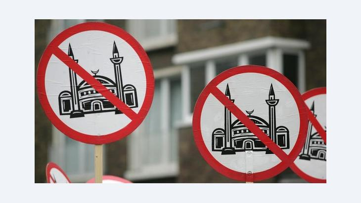 Anti-Islam protests in Cologne (photo: picture-alliance/dpa)