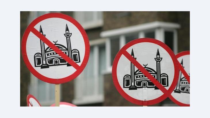 Anti-Islam protests in Cologne (photo: picture-alliance/dpa)