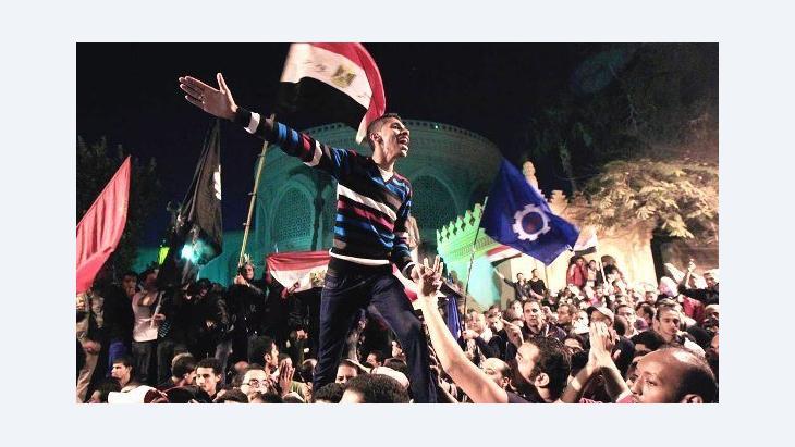 Protest against Egypt's president Mohamed Morsi in December 2012 (photo: Reuters/Mohamed Abd El Ghany)