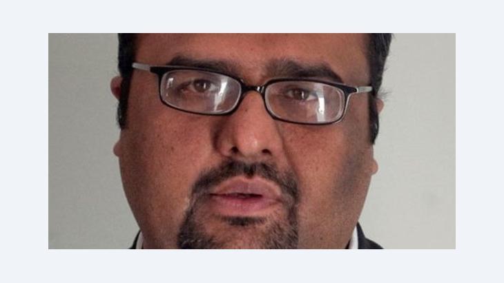 Mirza Shahzad Akbar (photo: Reuters)