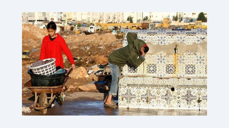 Children in the slums of Sidi Moumen (photo: AP)