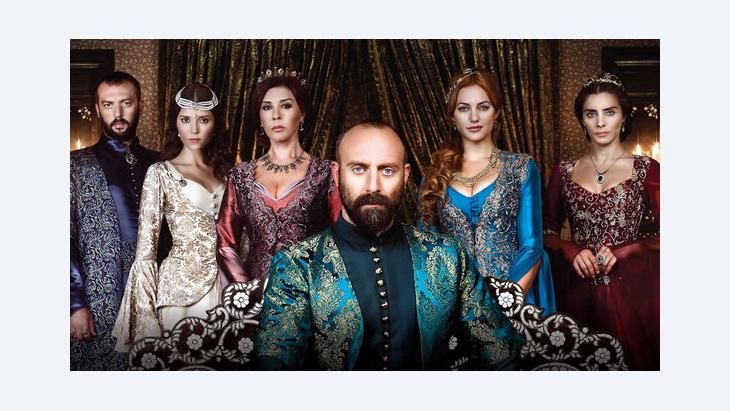 Promotional material from the Turkish television series 'Muhteşem Yüzyil' (photo: imago/Seskim Photo)